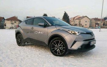 New vehicle in our fleet Toyota C-HR