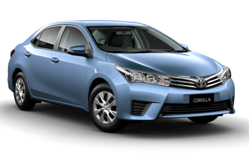 NEW VEHICLE IN OFFER - TOYOTA COROLLA