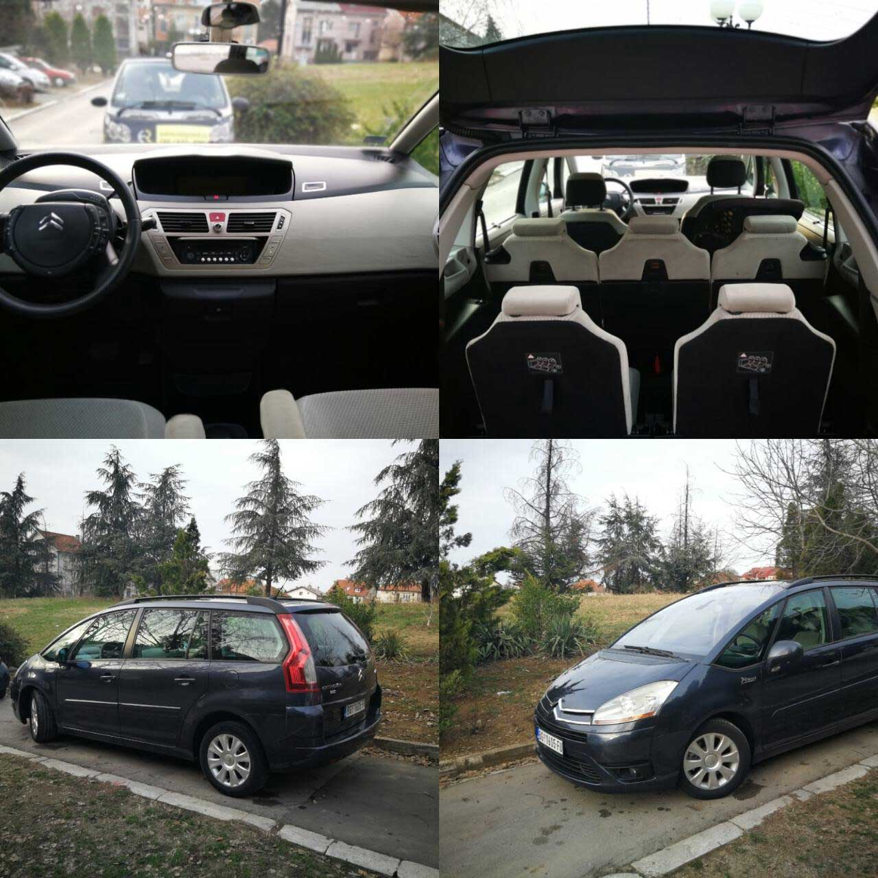 Citroen C4 Grand Picasso 20 HDI automatic Easy Rent Beograd