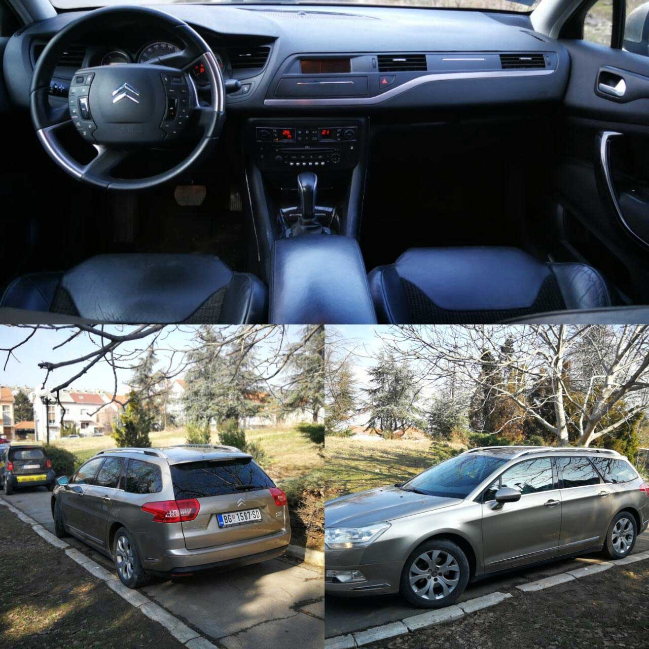 Citroen C5 karavan 20 HDI automatic Rent a Car Beograd