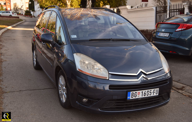 Citroen C4 Grand Picasso Easyrent a car Beograd