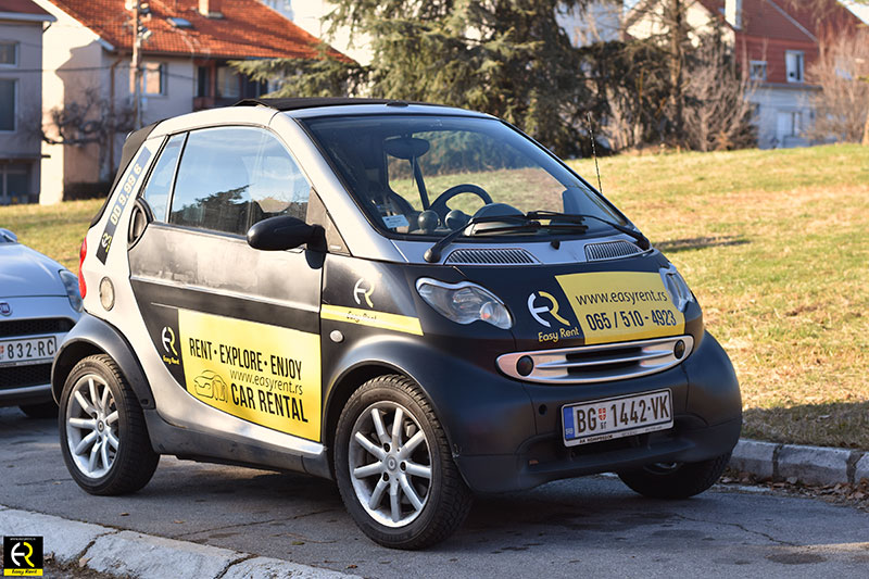 smart parkiran ispred easy rent a car firme